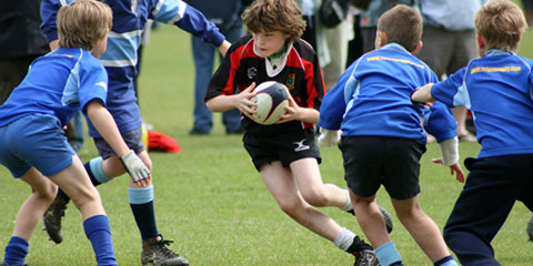 Junior Rugby Player