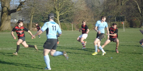 Fiercely contested and often bruising encounter at the Recreation Ground at Fordingbridge
